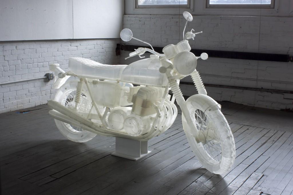 3D Printershow LA 3D printed motorcycle