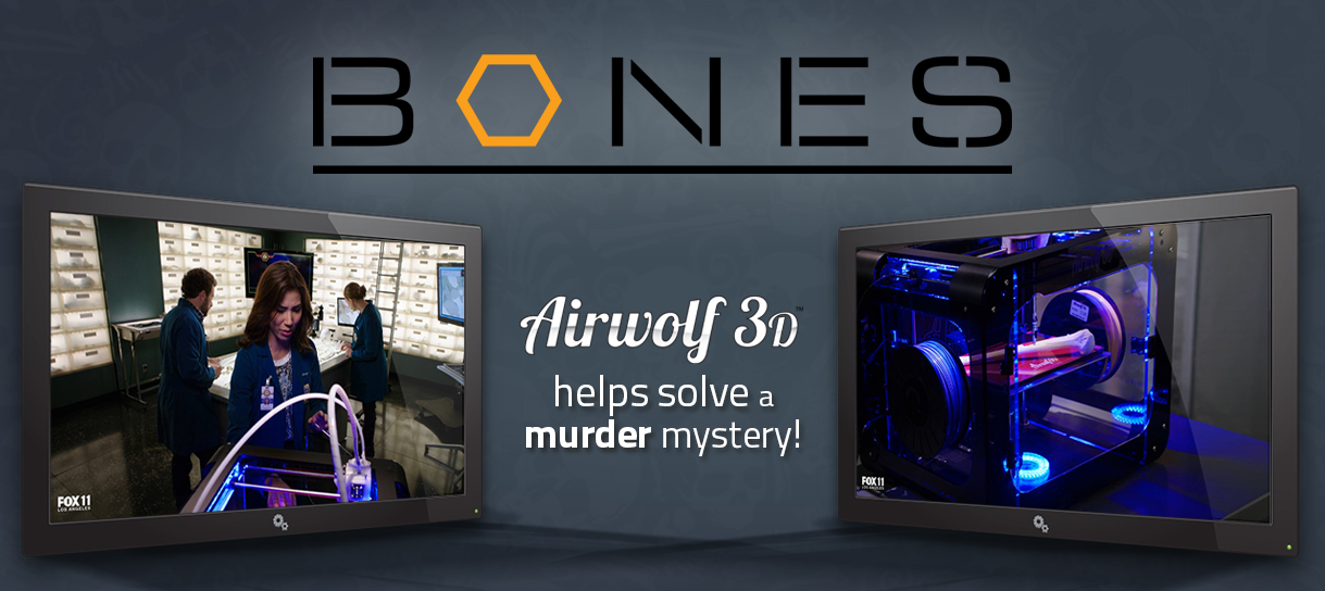 Airwolf 3D HDR in Bones Murder in the Middle East
