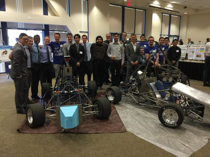 UCI's Zeta electric car 2015 Energy Invitational