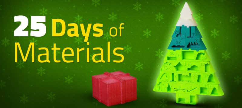 25 days of materials