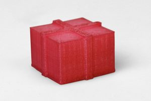 25 days of materials wrapped present