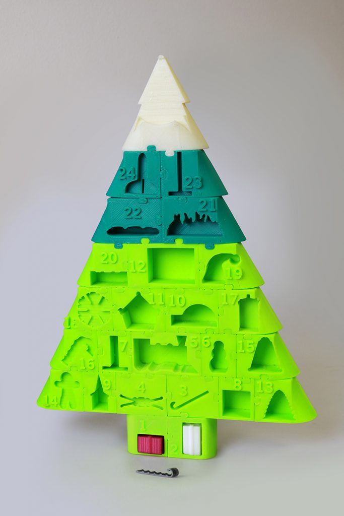 3D Printed Advent Calendar