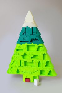 3D Printed Christmas Tree