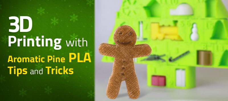 3D Printing with Aromatic Pine PLA