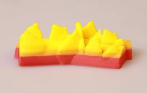 Burning Logs 3D Printed with ABS