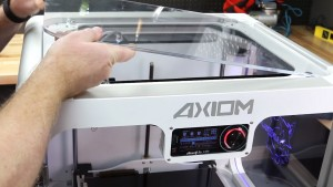 Top of AXIOM Large 3D Printer