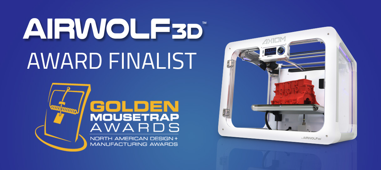 Golden Mouse Trap Award 3D Printer