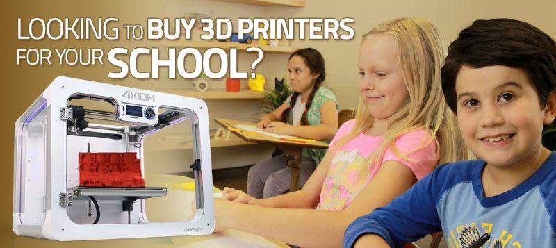 3D Printers for Schools