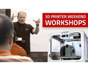 Intermediate 3D printer training