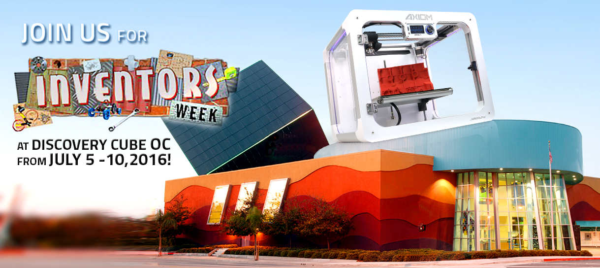 Visit Airwolf 3D during Inventor's Week 2016 at Discovery Cube OC.