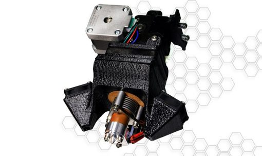 3-d printer single extruder for successive layers