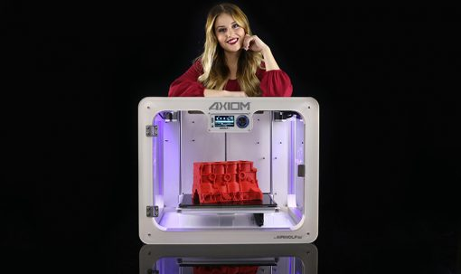 AXIOM 3d printer with Sandy