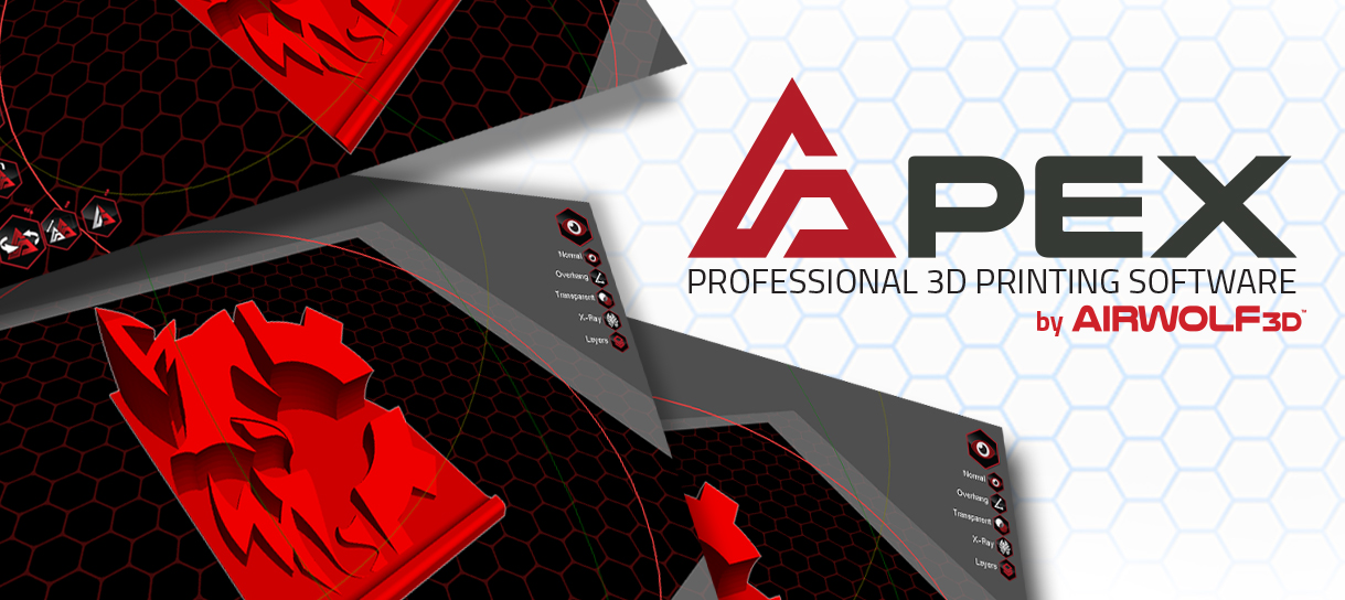 Apex Professional 3D Printing Software by Airwolf 3D