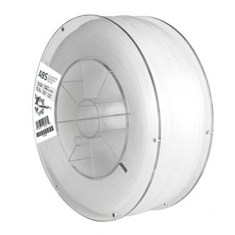 Clear ABS Filament on a Clear Spool