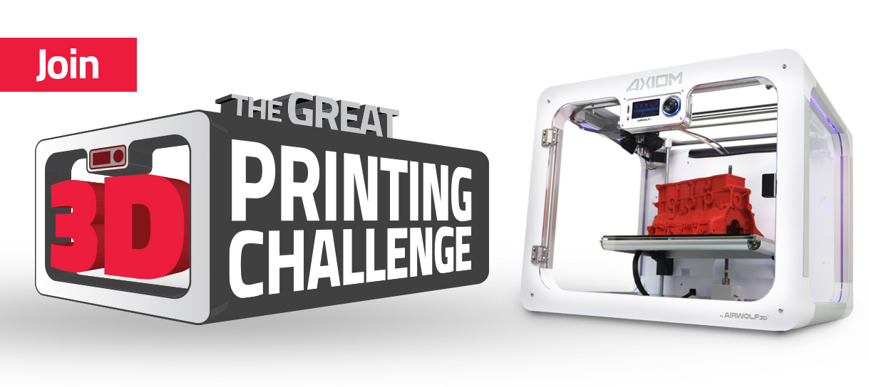 Host your own 3D printing competition