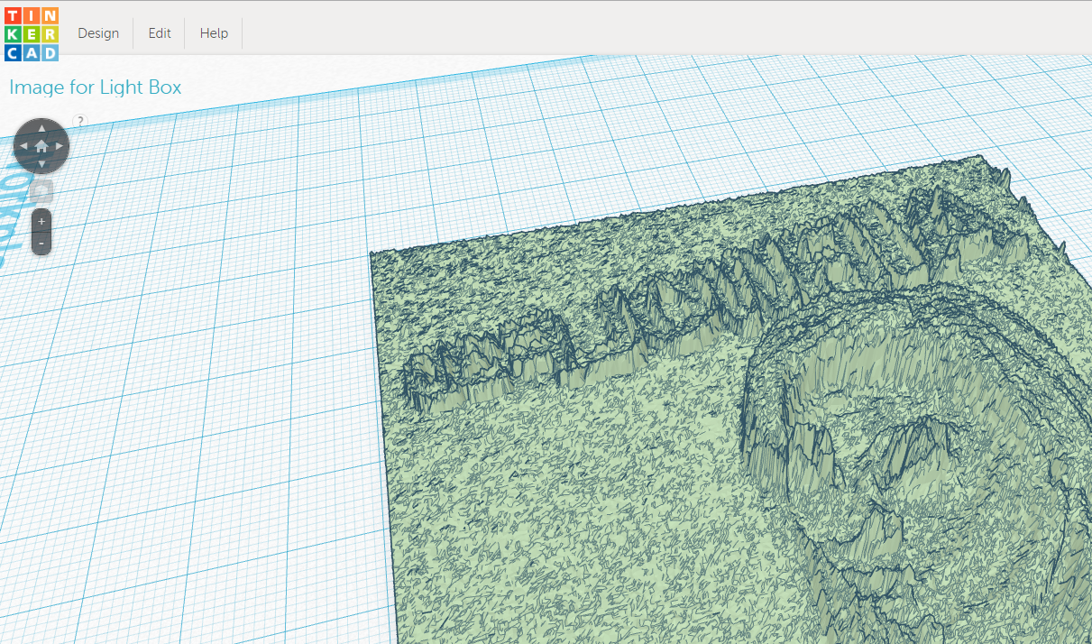 Create Lithophane in Tinkercad