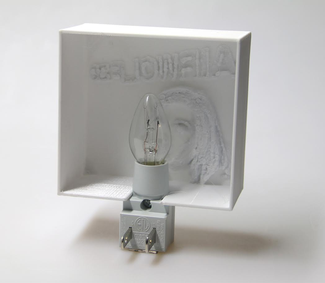 Personalized 3D-Printed Nightlight