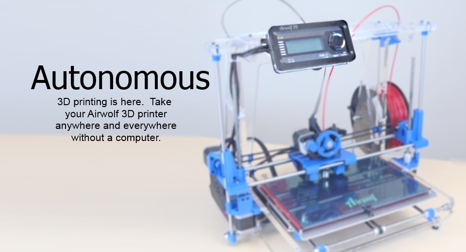 Use 3D printer without a computer.
