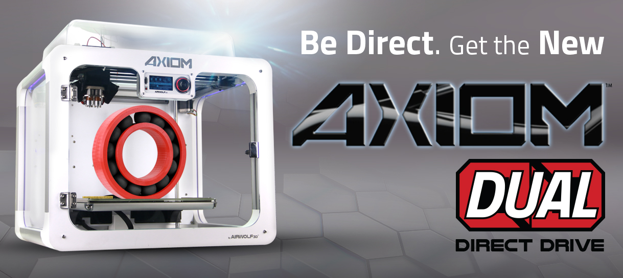 Dual Head 3D Printer With Direct Drive