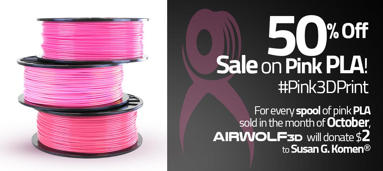 Pink 3D Printing