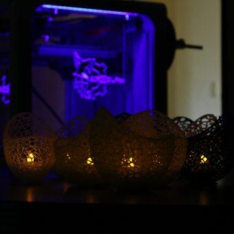 3D Printed Diwali Lamps