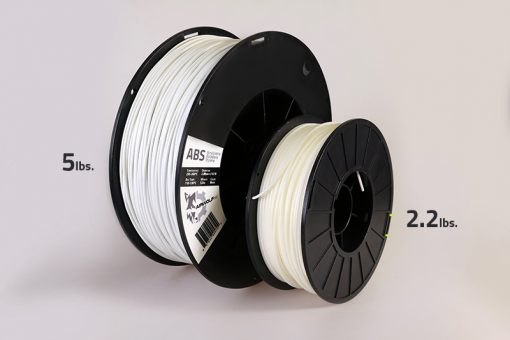 3D print abs spool comparison
