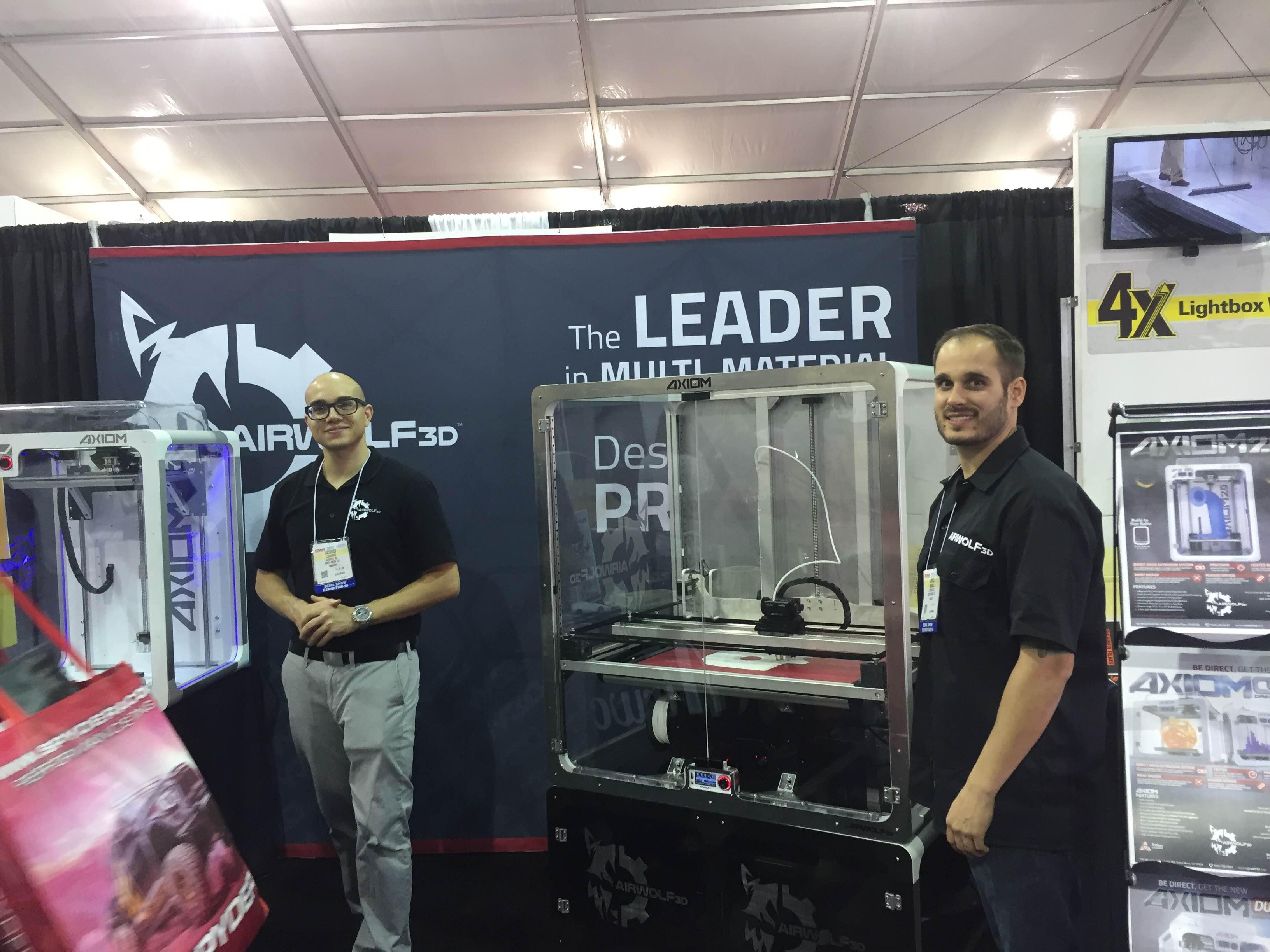 Large 3D Printer at SEMA