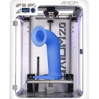 high quality large 3d printer axiom 20 blue part