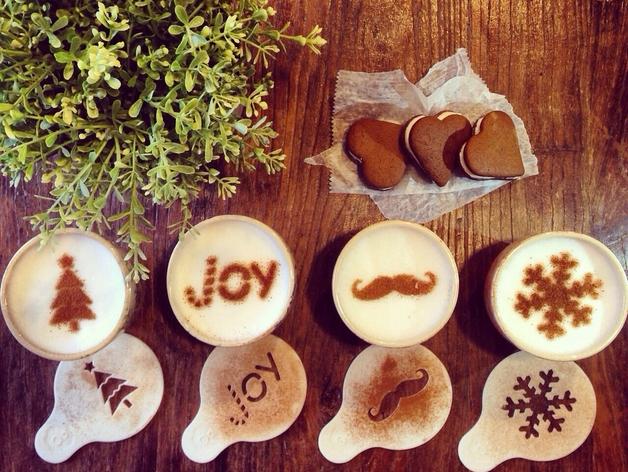 3D Print Coffee Stencils
