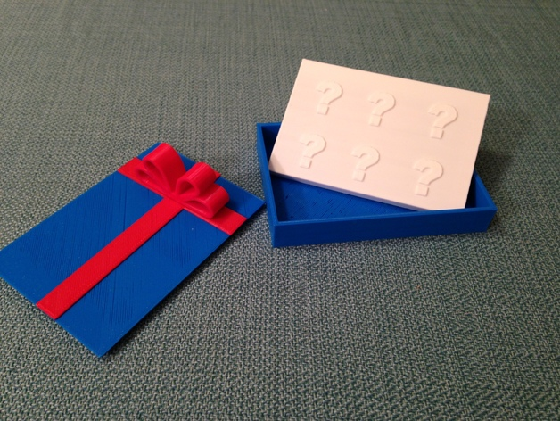 3D Print Giftcard Holder