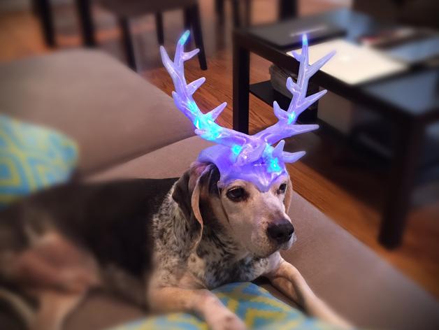 3D Print Christmas Antlers