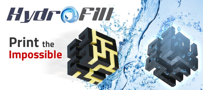 HydroFill Water Soluble Support Material by Airwolf 3D
