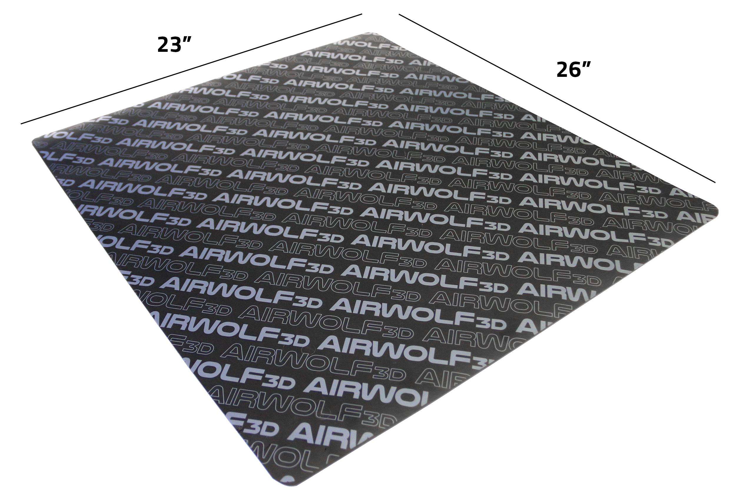 3d printer mat sizes