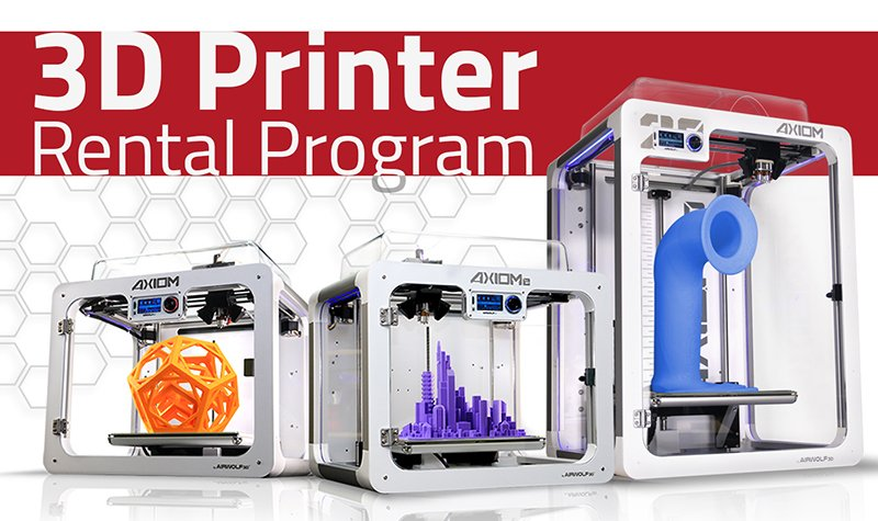 3D Printer Rental Program