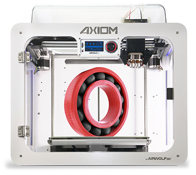 AXIOM Dual Extrusion 3D Printer