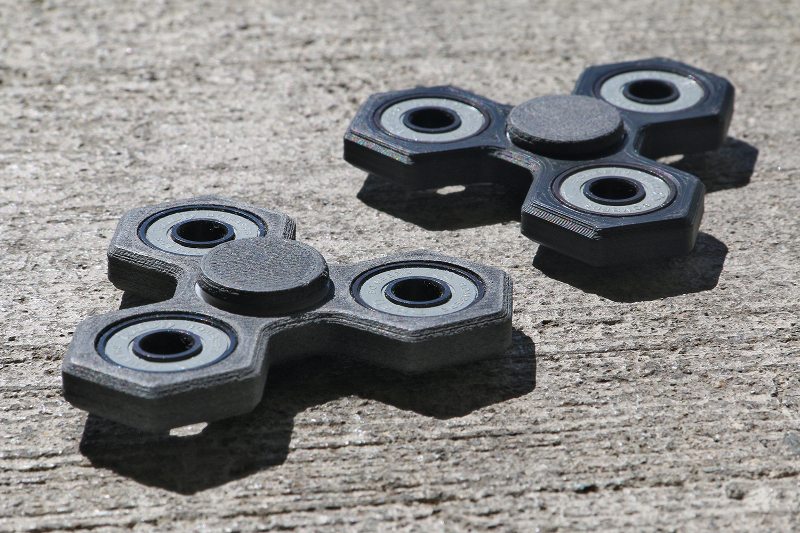 3Dprinted Spinners for ADHD