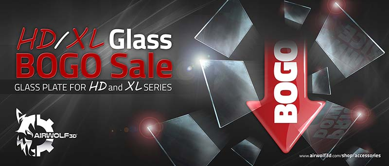3D Printer Glass Sale