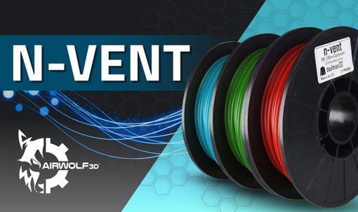 n-vent amphora 3d printer filament