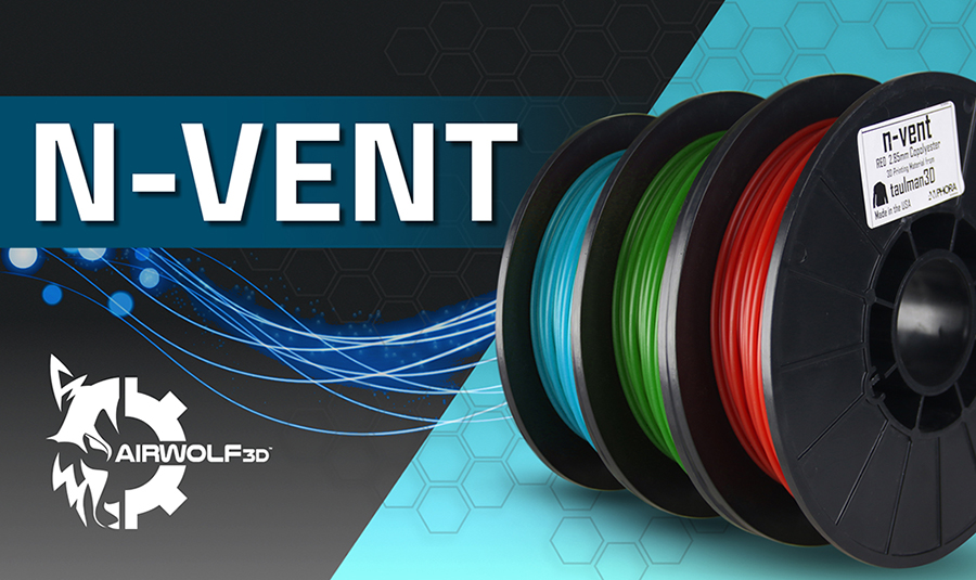n-vent amphora 3d printer filament