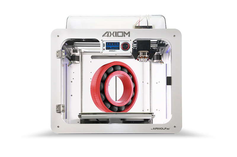 axiom dual head 3d printer