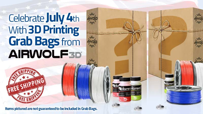 July 4th 3D Printing Sale