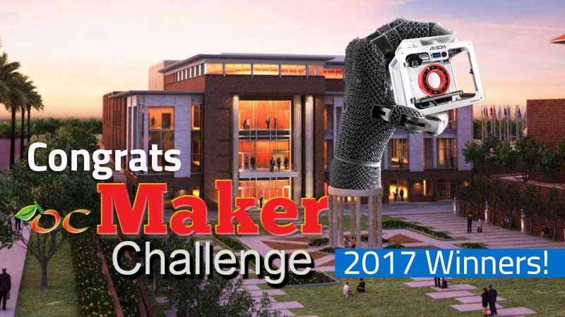 ocMaker Challenge 2017 Winners
