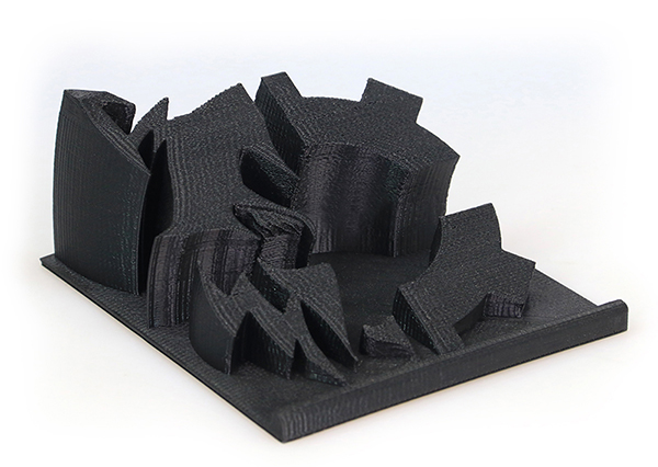 Carbon Fiber ABS Sample Part