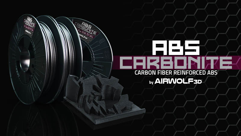 Carbon Fiber Reinforced ABS 3D Printer Filament