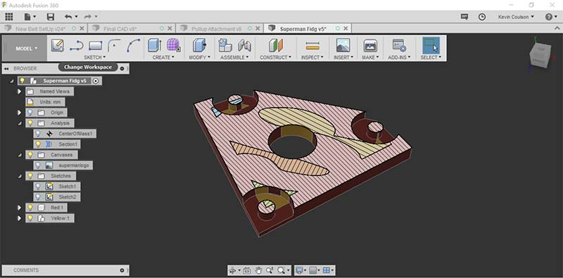 3D Printing an Embedded Bearing