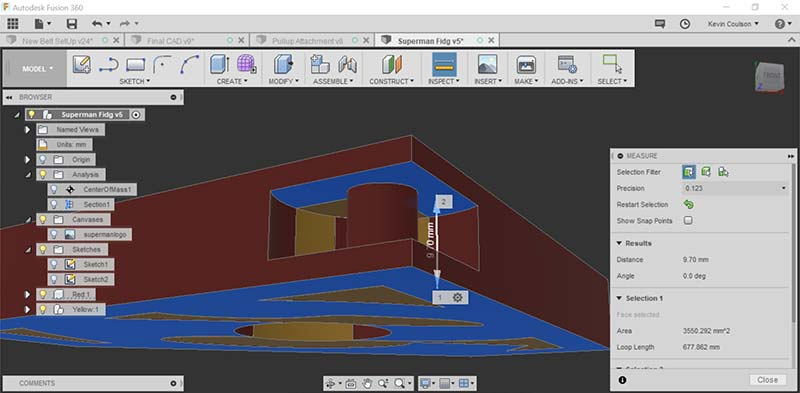 Design Spinner 3D Printing