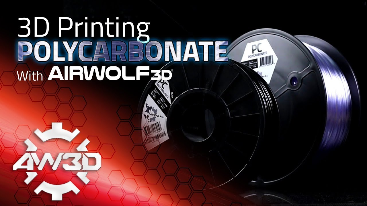 The Guide to Polycarbonate 3D Printing