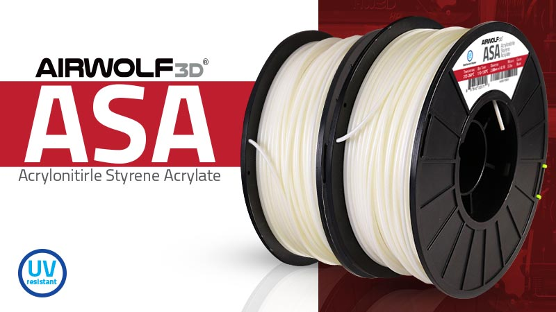 ASA Filament for 3D Printing