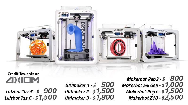 3D Printer Trade In