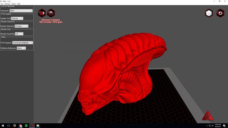 Make on a Big 3D Printer